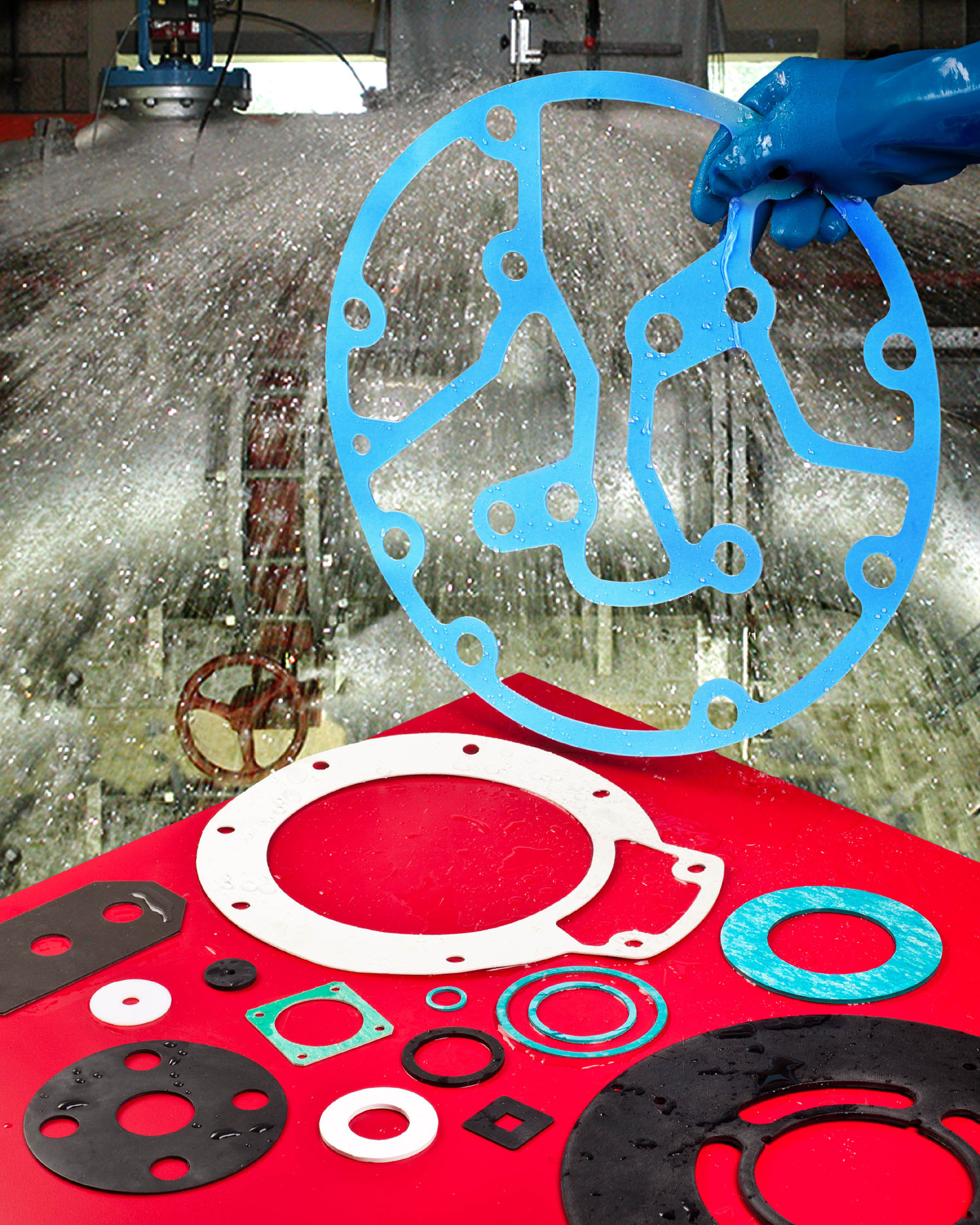 Custom Gaskets Match Fluid Handling Requirements